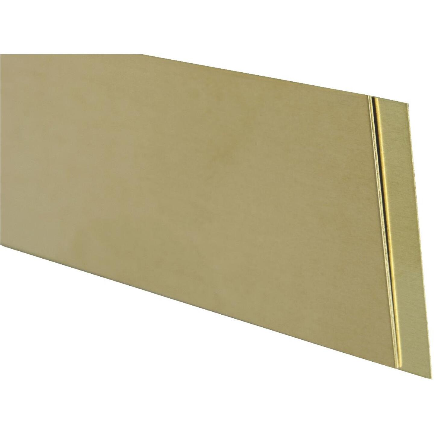 K&S Brass 1/4 In. x 12 In. Strip Stock Image 1