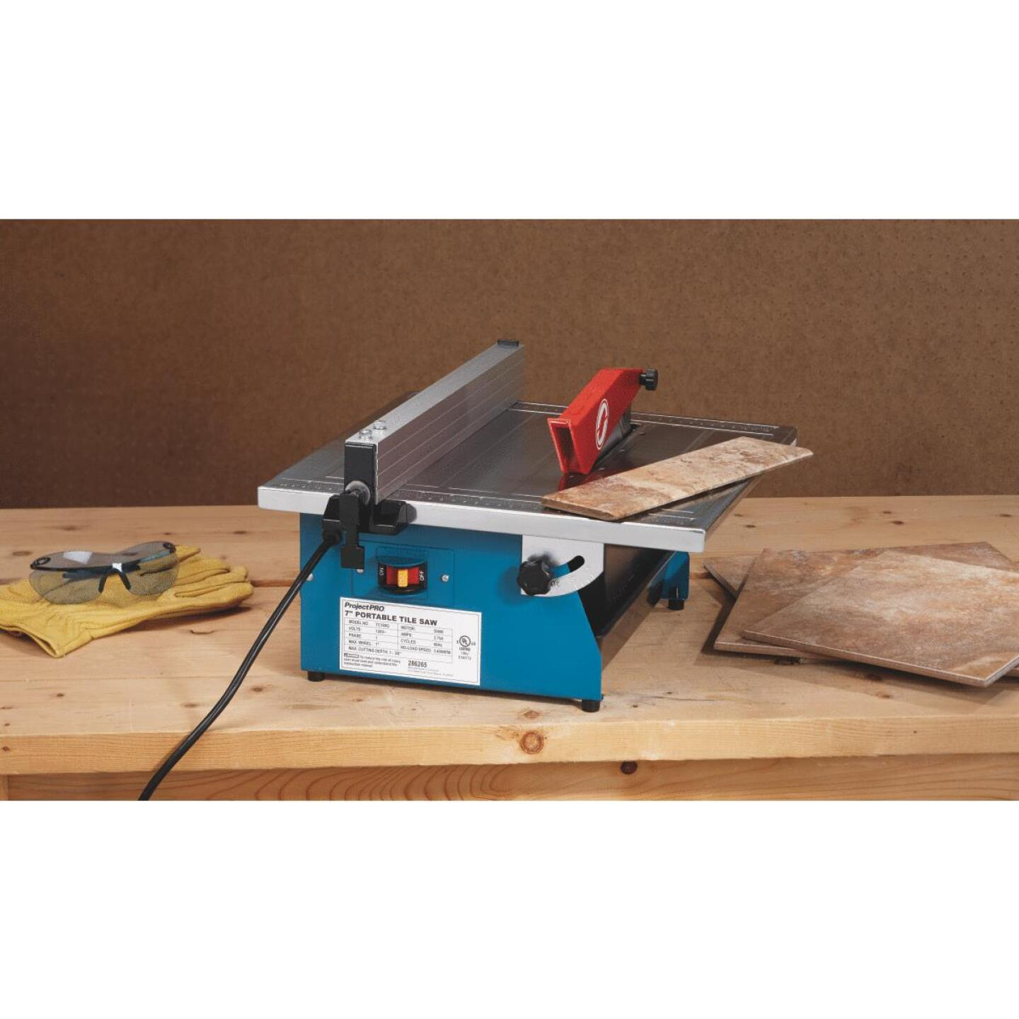 Project Pro 7 In. Portable Tile Saw Image 3