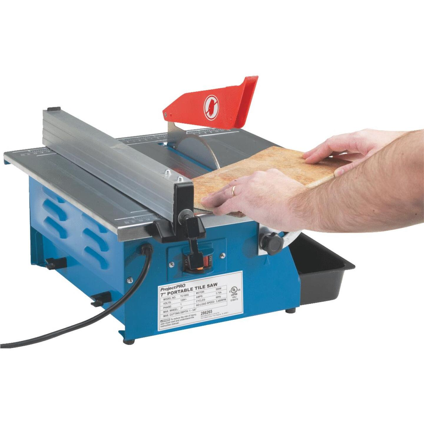 Project Pro 7 In. Portable Tile Saw Image 4