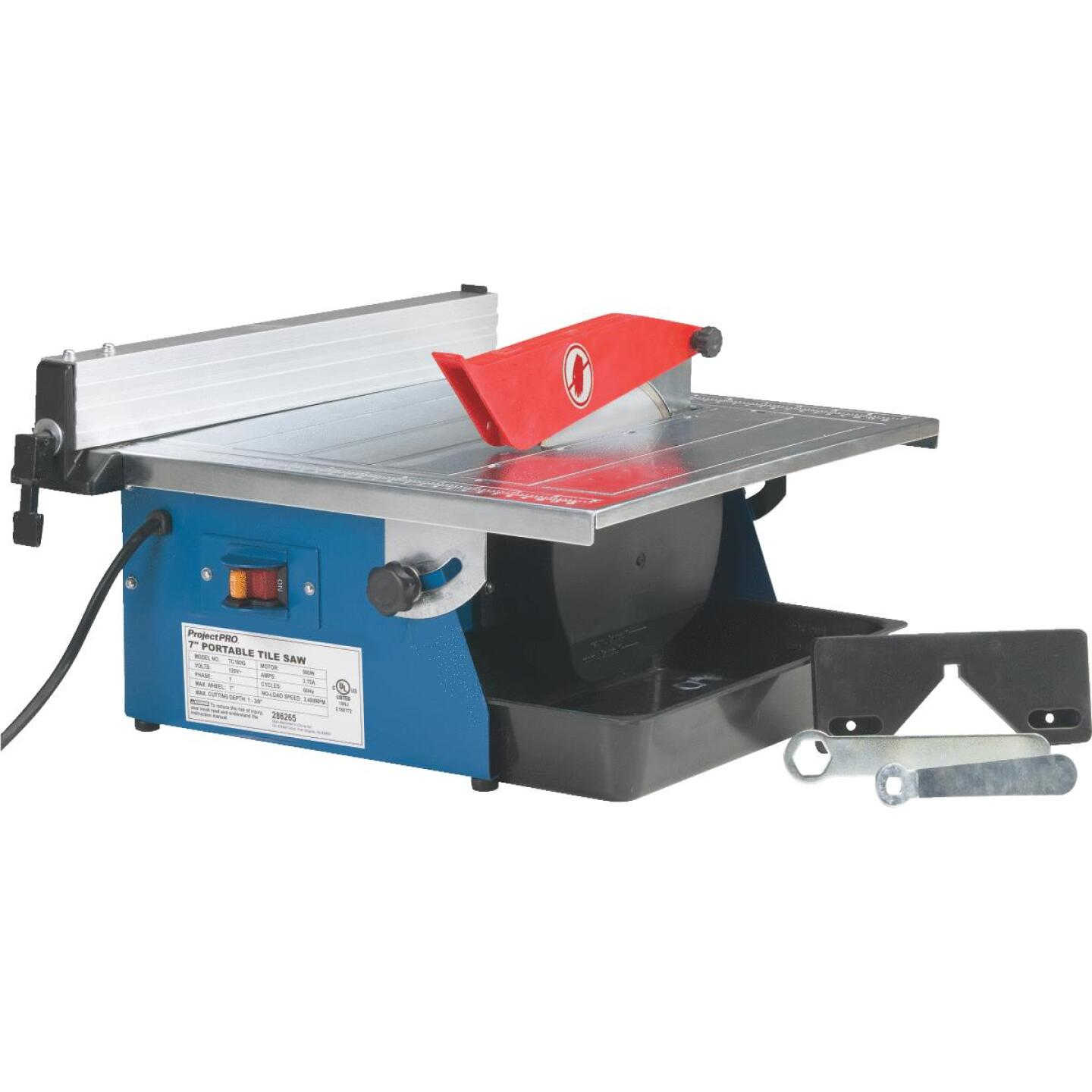 Project Pro 7 In. Portable Tile Saw Image 8