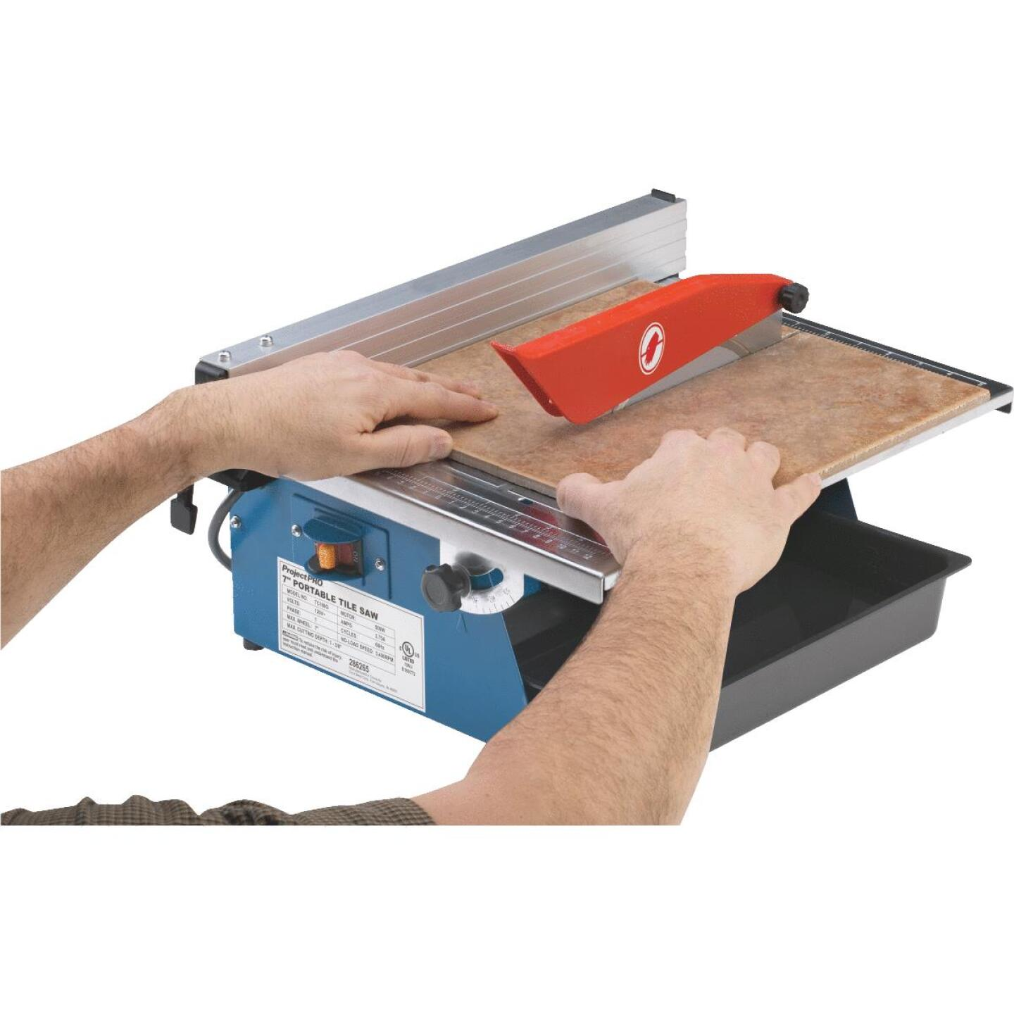Project Pro 7 In. Portable Tile Saw Image 9