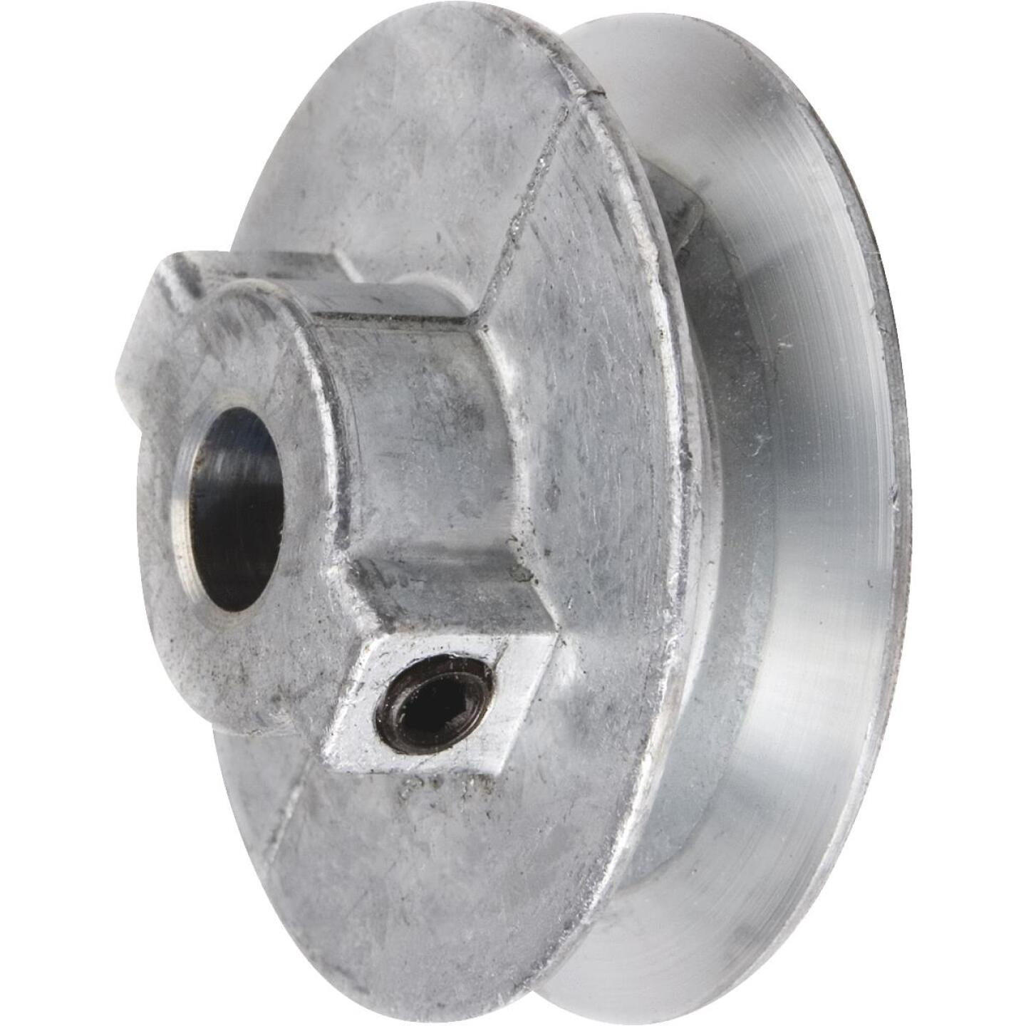 Chicago Die Casting 5 In. x 3/4 In. Single Groove Pulley Image 1