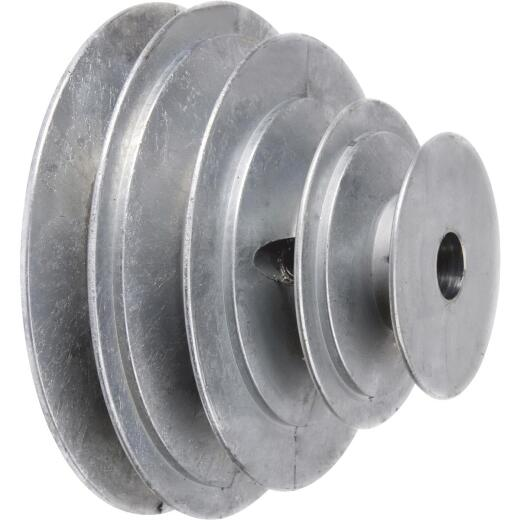 Chicago Die Casting 1/2 In. 4-Step Cone Pulley