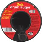 Do it Best 1/4 In. x 25 Ft. Molded Polymer Drum Drain Auger Image 2