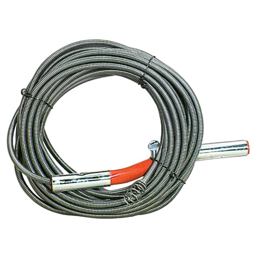 General Wire 3/8 In. x 50 Ft. Carbon Steel Wire Cleanout Drain Auger