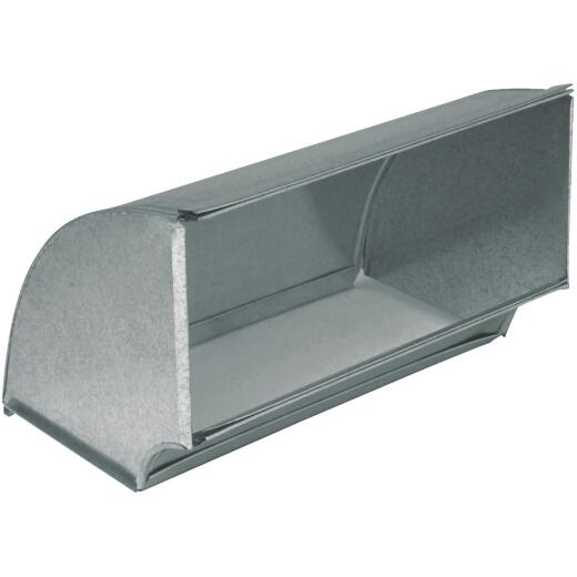 Imperial 30 Ga. 3-1/4 In. x 10 In. Galvanized Flat Elbow