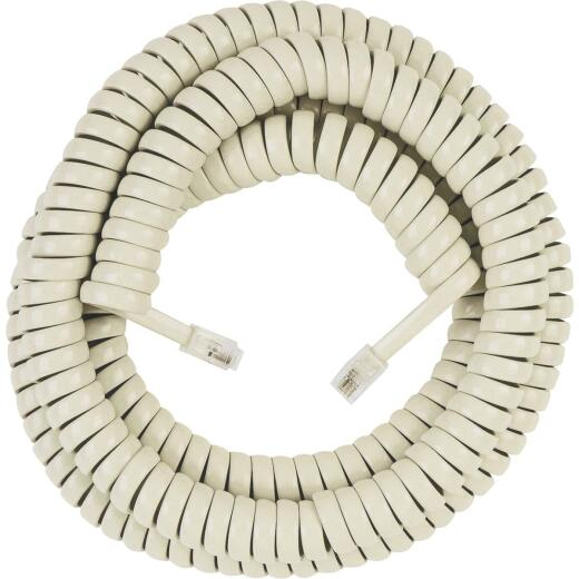 RCA 25 Ft. Almond Phone Cord