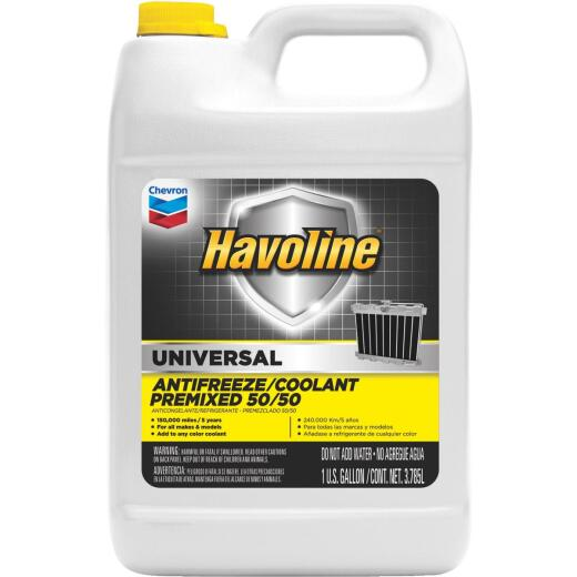 Havoline Universal Gallon 50/50 Pre-Diluted -34 F to 265 F Automotive Antifreeze