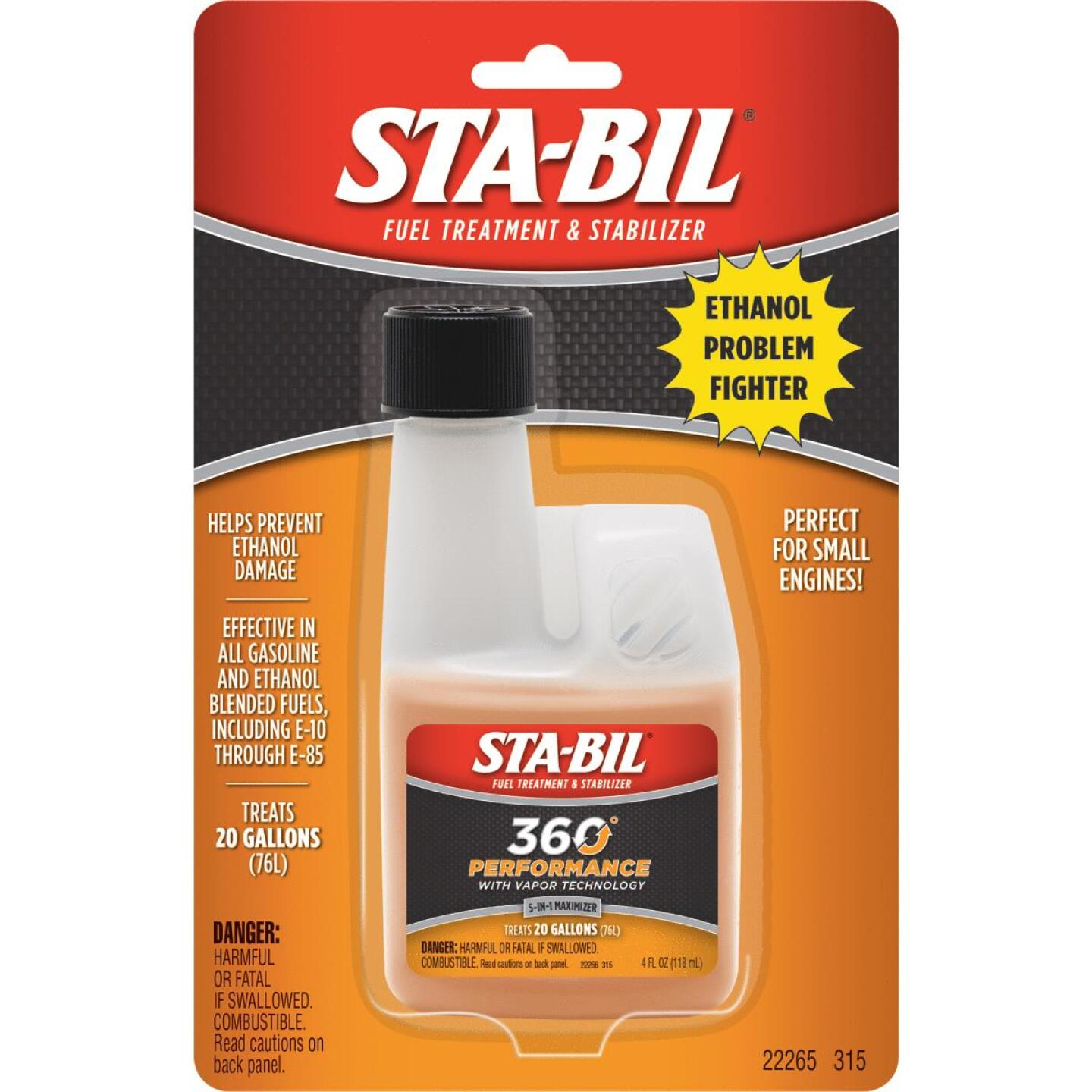 Sta-Bil 4 Fl. Oz. Ethanol Gas Treatment Image 3