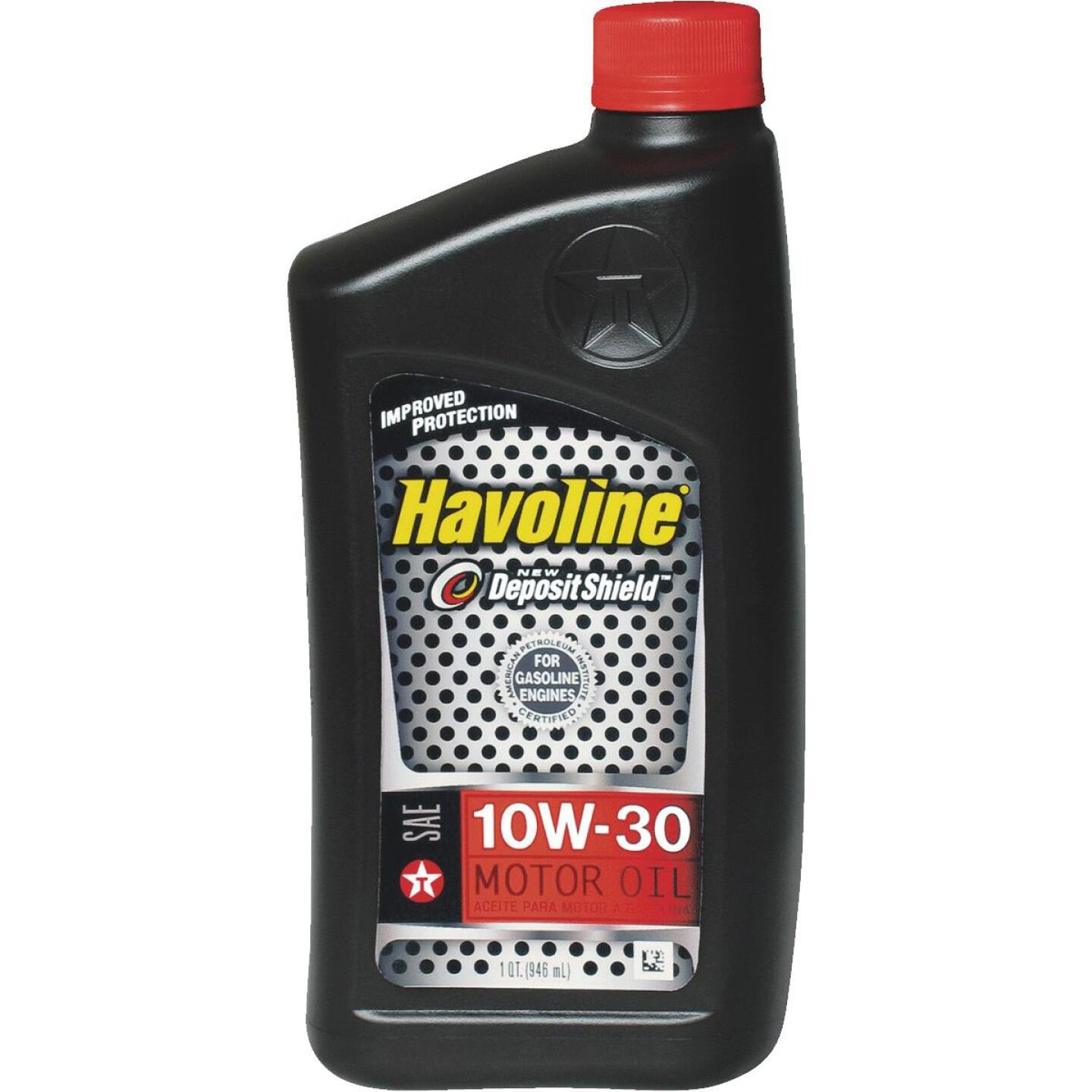 Havoline 10W30 Quart Motor Oil Image 1