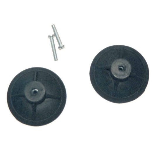 Erickson 3 In. Black Roof Rack Suction Cup (2-Pack)