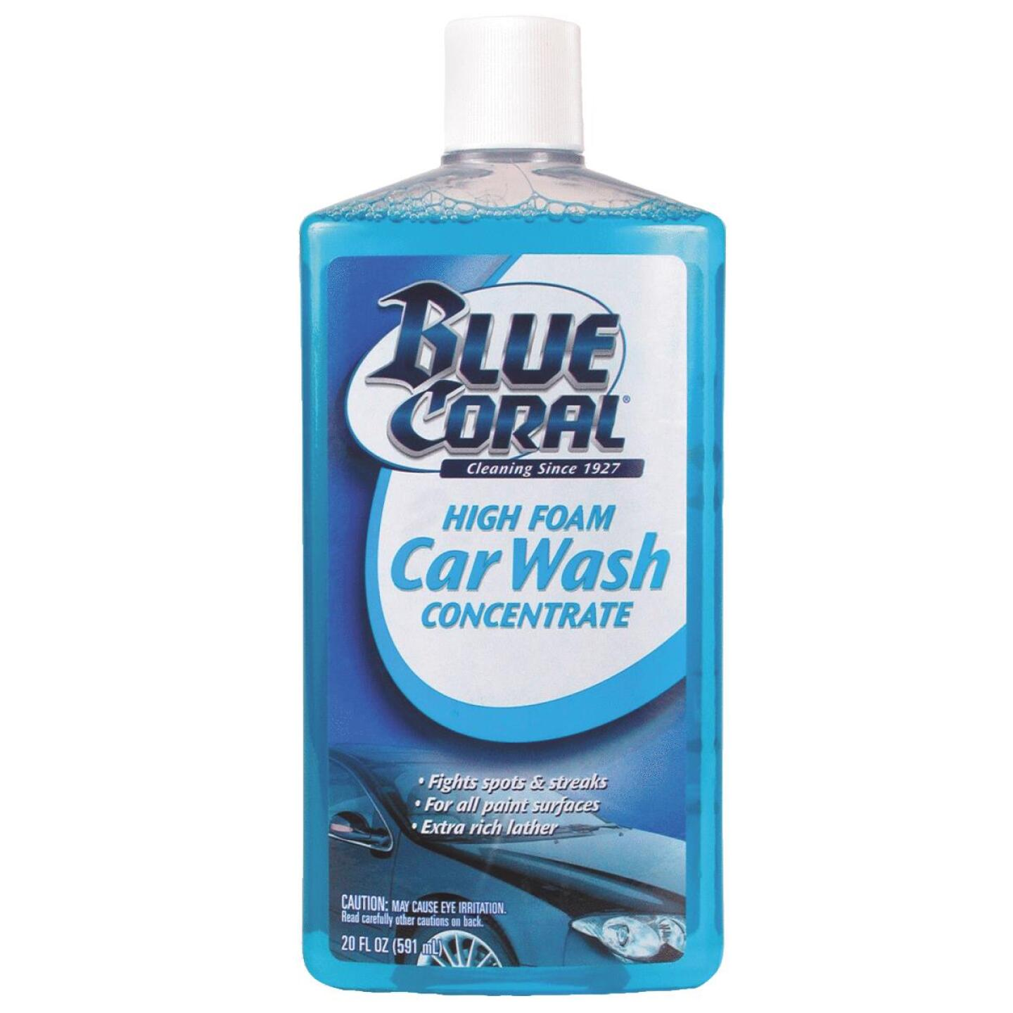 Blue Coral Liquid Concentrate 20 oz Car Wash Image 1
