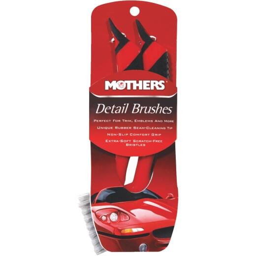 Mothers Detailing Brush (2-Pack)