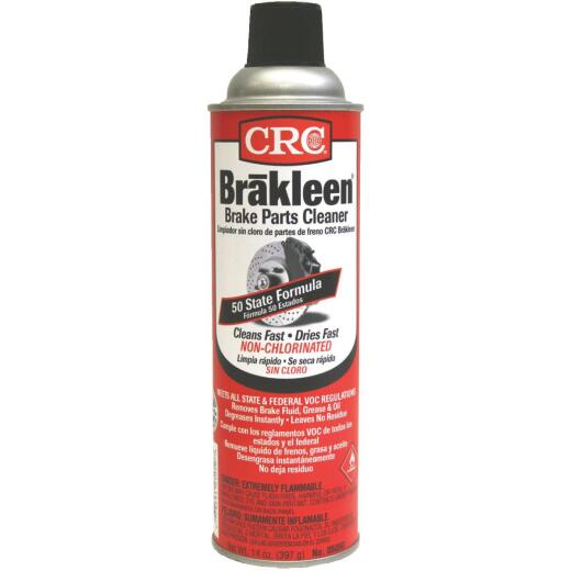 CRC Brakleen Nonchlorinated Aerosol 14 Oz. Brake Cleaner