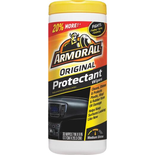 Armor All Original Protectant Wipe (30-Count)