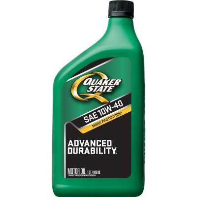 Quaker State Advanced Durability 10W40 Quart Motor Oil