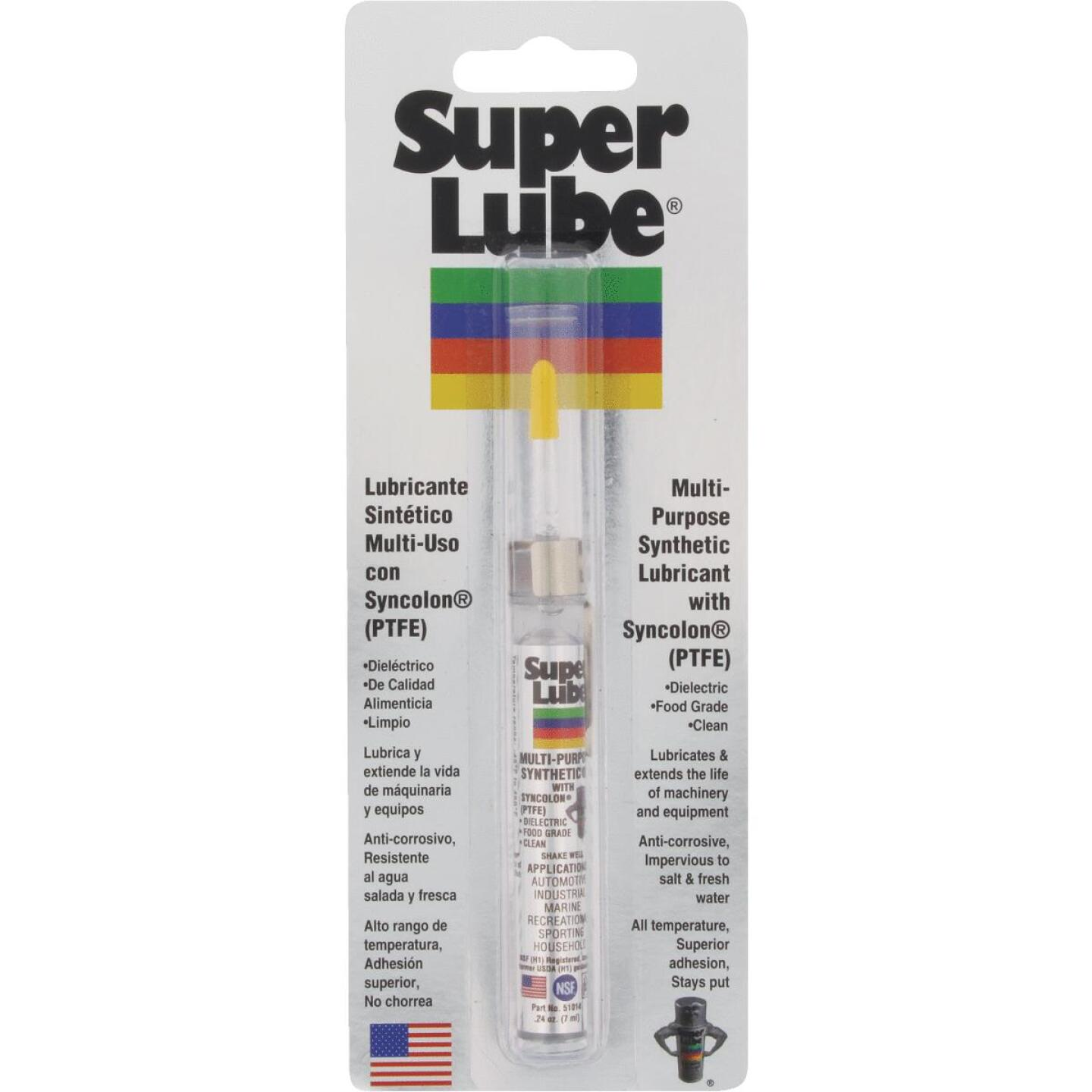 Super Lube 0.25 Oz. Tube Synthetic Multi-Purpose Lubricant Image 1