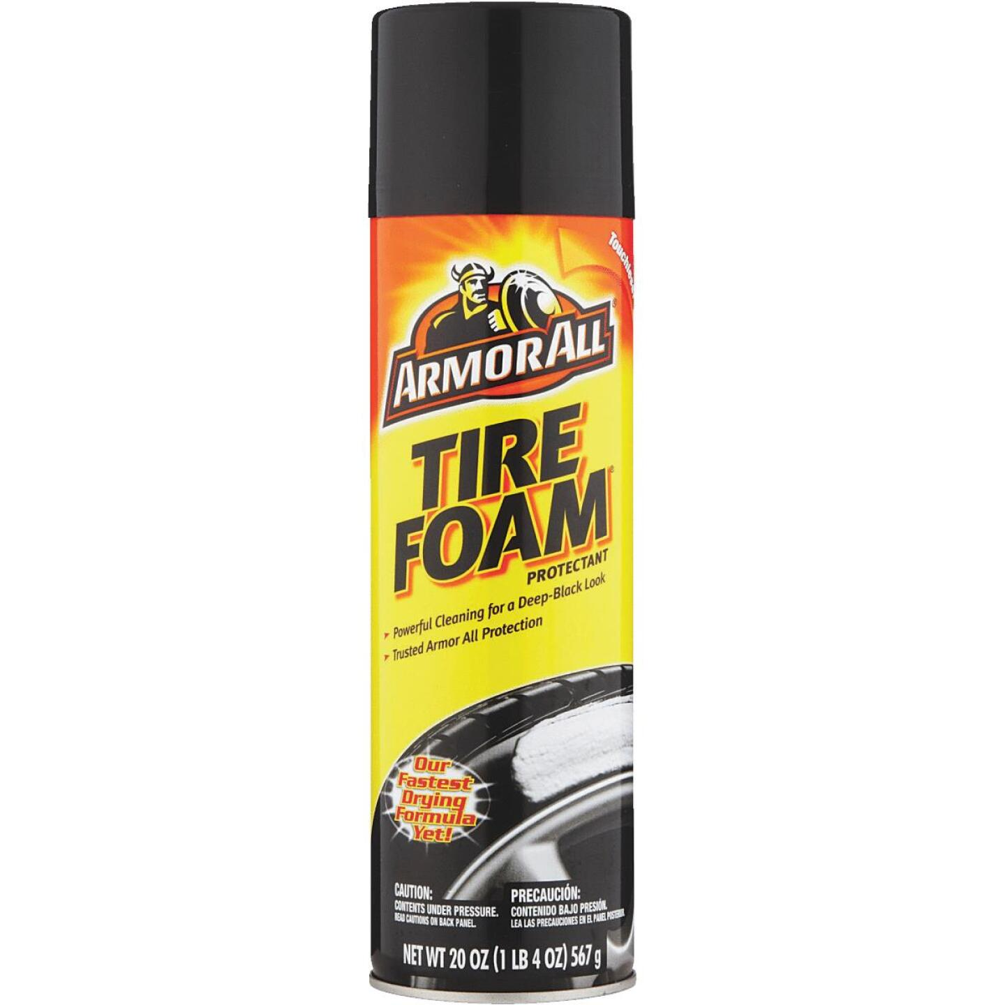 Armor All 20 oz Aerosol Spray Tire Cleaner Image 1