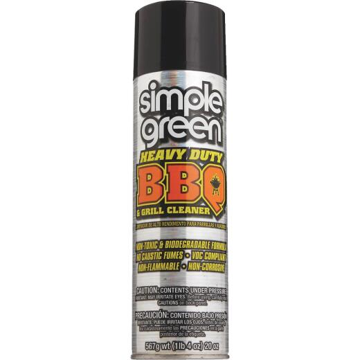 Simple Green 20 Oz. Aerosol Spray BBQ and Grill Cleaner