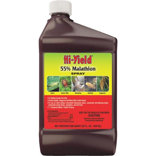 Hi-Yield 32 Oz. Concentrate Malathion Insect Killer