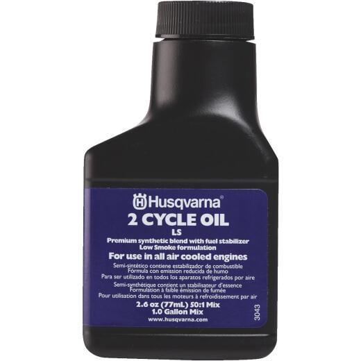 Husqvarna 2.6 Oz. Synthetic Blend 2-Cycle Motor Oil