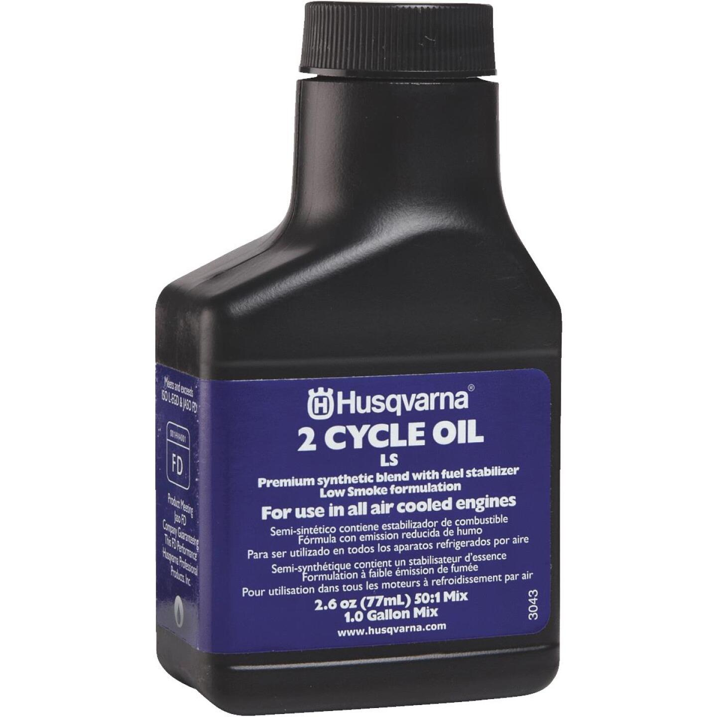 Husqvarna 2.6 Oz. Synthetic Blend 2-Cycle Motor Oil Image 2