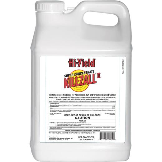 Hi-Yield Killzall 2-1/2 Gal. Concentrate Weed & Grass Killer