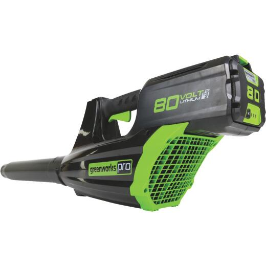 Greenworks Pro 125 MPH 80-Volt Axial Brushless Lithium-Ion Cordless Blower