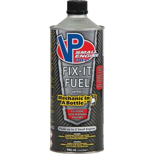 VP Small Engine Fuels 32 Oz. Fix-It Fuel System Cleaner with Mechanic In-a-Bottle