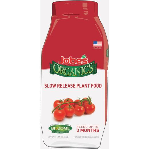 Jobe's Organics 1 Lb. Ready To Use Granules Vegetable & Tomato Slow Release Dry Plant Food