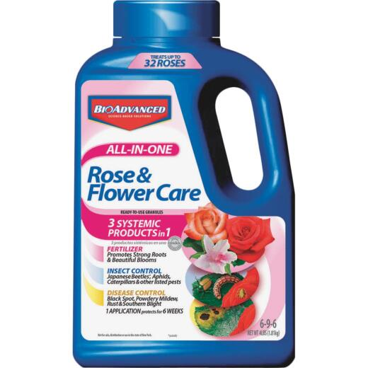 BioAdvanced 4 Lb. 6-9-6 Rose & Flower Care Dry Plant Food