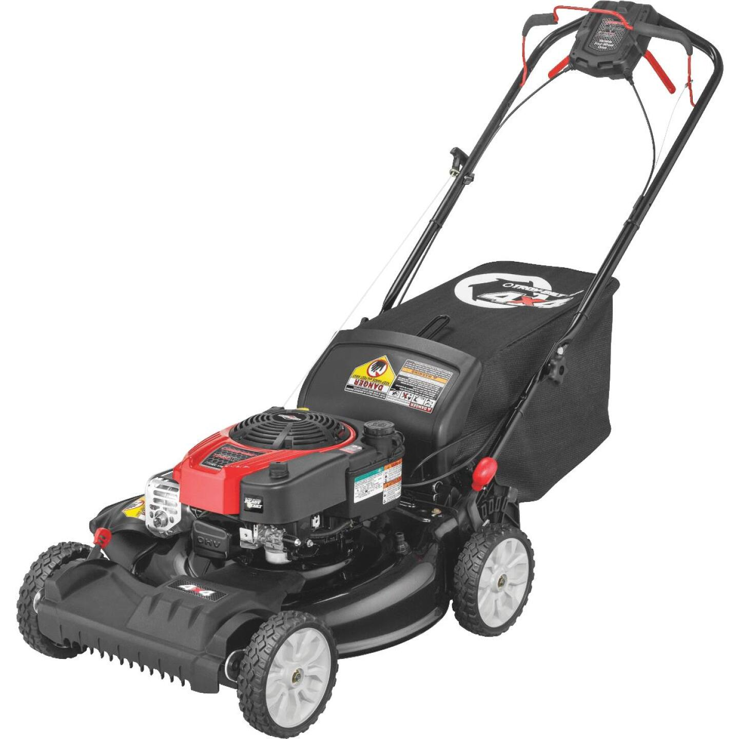Troy-Bilt 21 In. 175cc Briggs & Stratton 4X4 Self-Propelled Gas Lawn Mower Image 1