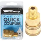 Forney 1/4 In. Male Quick Coupler Pressure Washer Socket Image 1