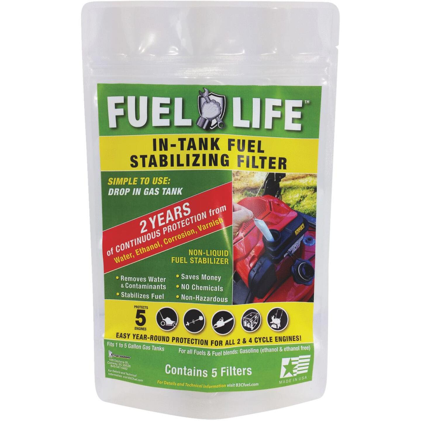 Fuel Life In-Tank Fuel Stabilizing Filter (5 pack) Image 1