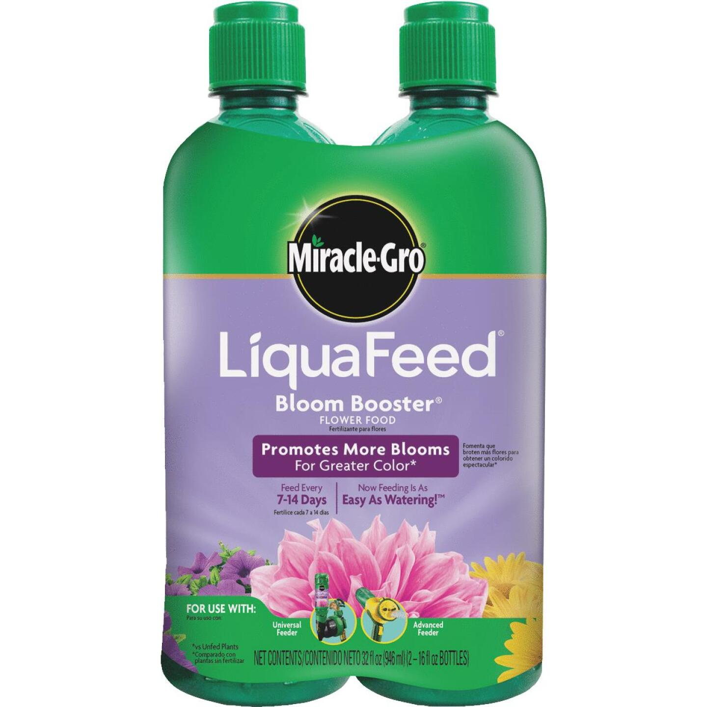 Miracle-Gro 16 Oz. Ea. 12-9-6 Ready To Use Liquid Plant Food Image 1
