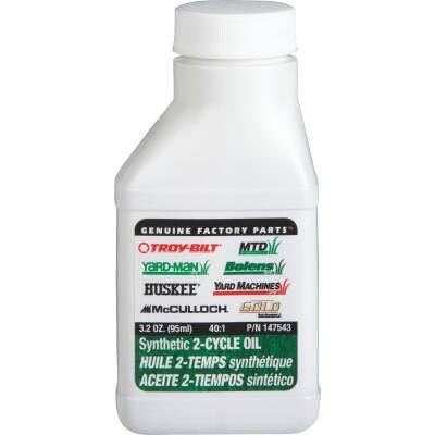 MTD 3.2 Oz. Synthetic 2-Cycle Motor Oil