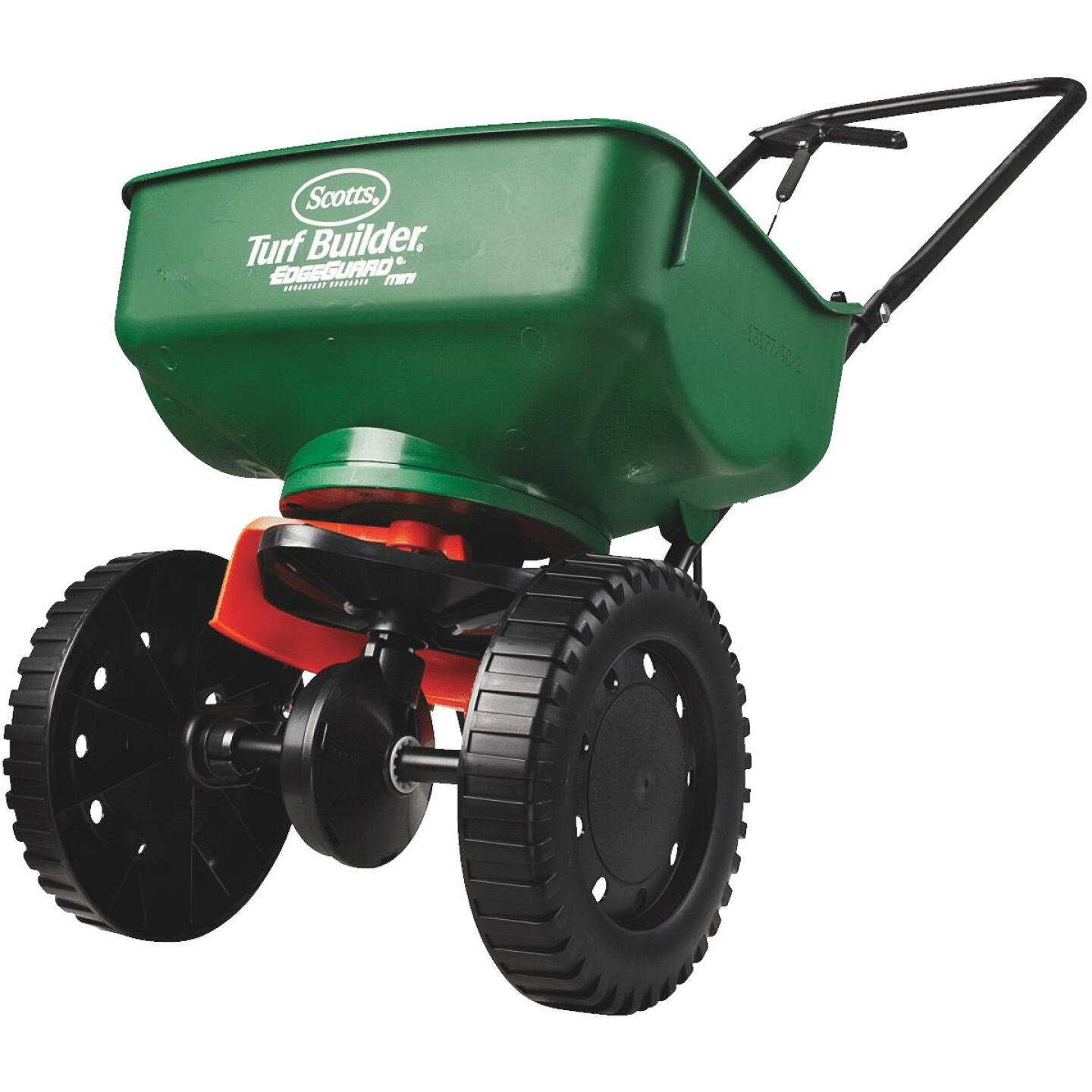 Scotts Turf Builder EdgeGuard Mini Broadcast Fertilizer Spreader Image 2
