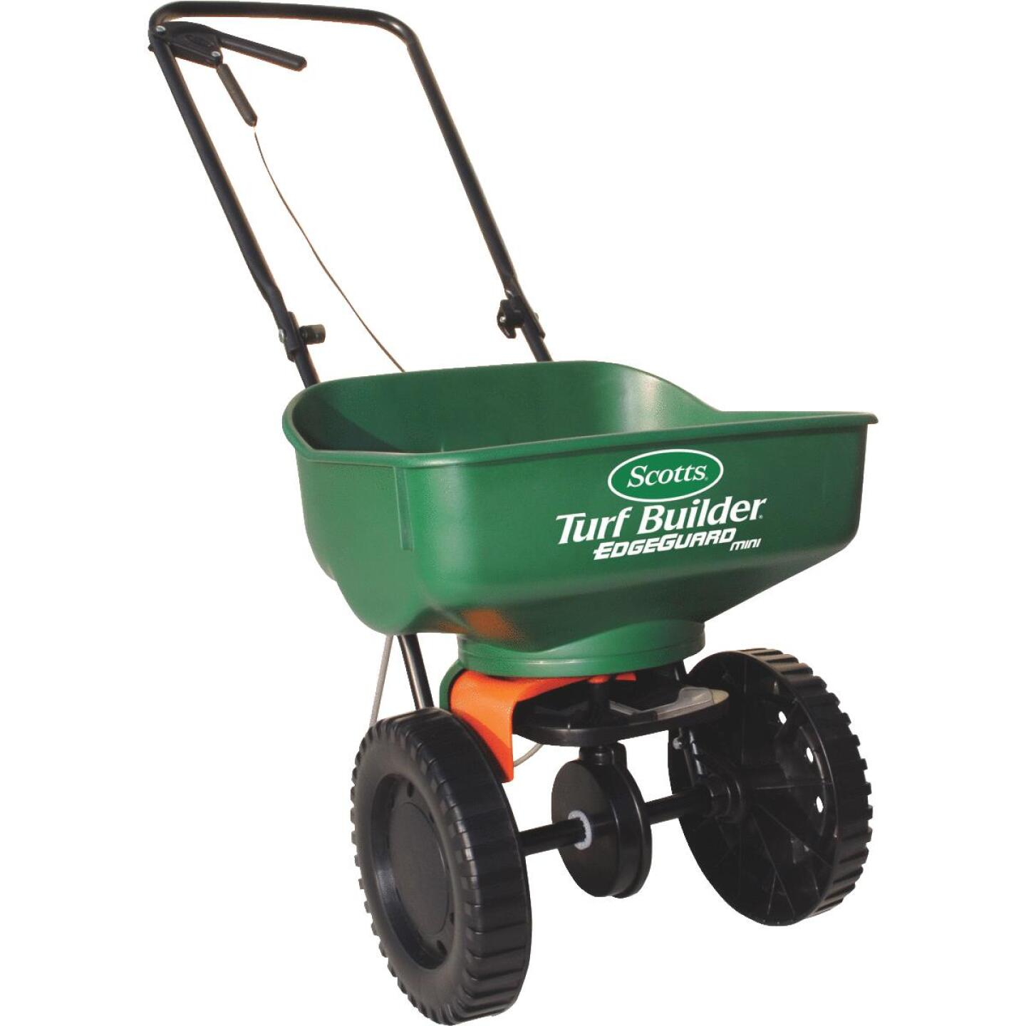 Scotts Turf Builder EdgeGuard Mini Broadcast Fertilizer Spreader Image 1