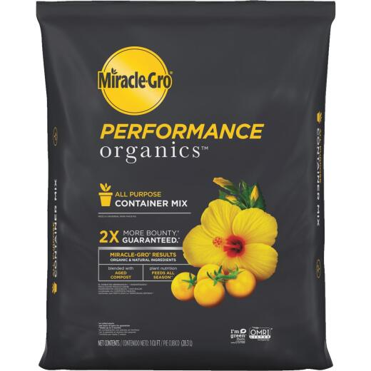 Miracle-Gro Performance Organics 1 Cu. Ft. All Purpose Container Mix (California Only)