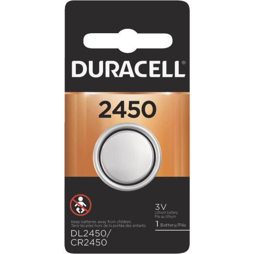 Duracell 2450 Lithium Coin Cell Battery