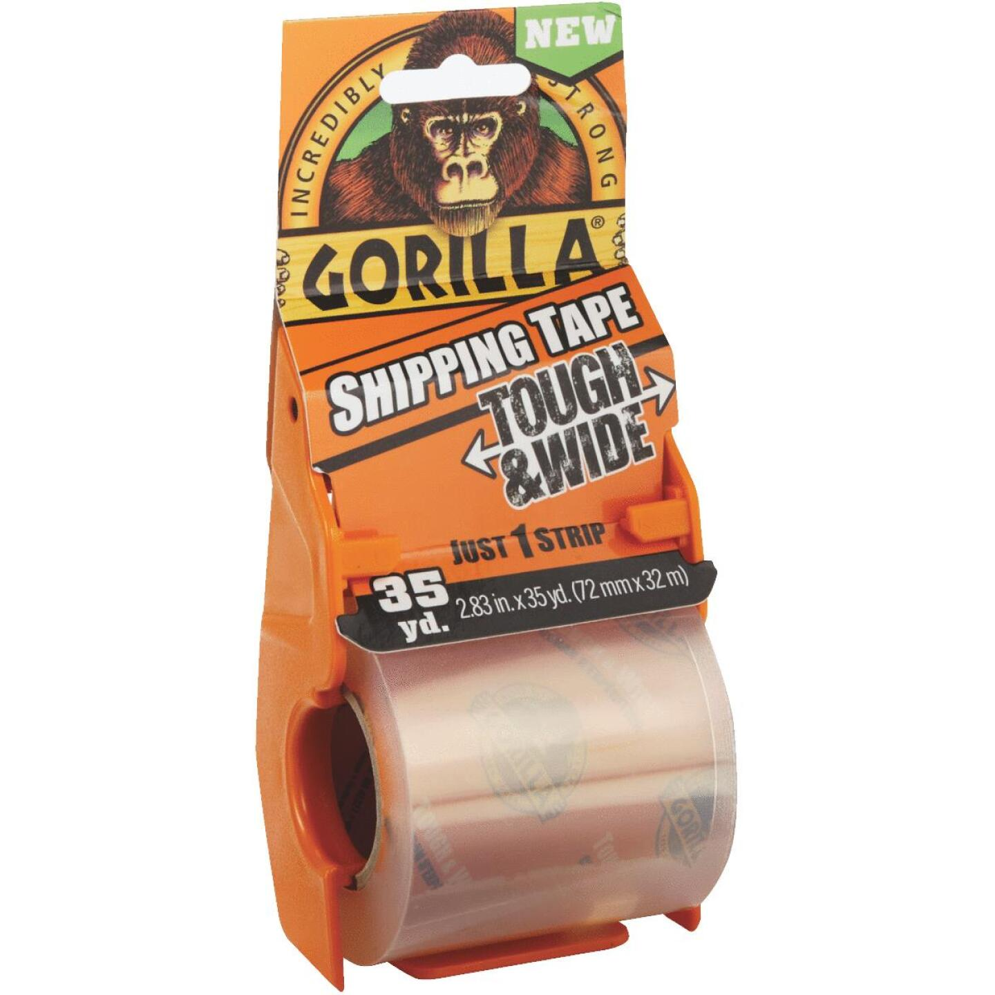 Gorilla 2.83 In. W. x 35 Yd. L. Clear Shipping Tape Image 1